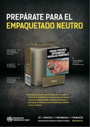 empaquetado neutro tabac